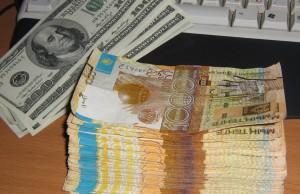 Тенге и доллары
